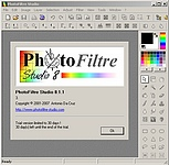 PhotoFiltre Studio 8.1.1